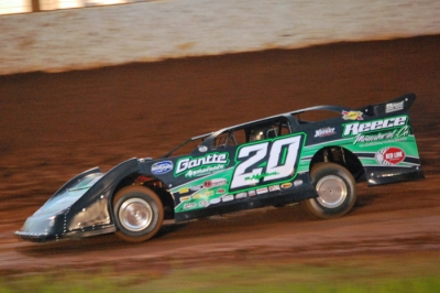Jimmy Owens gets up to speed in a new Barry Wright Race Car. (Trax Racing Photos)