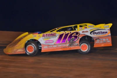 Randy Weaver heads for a $7,000 victory at East Alabama. (Eric Gano)