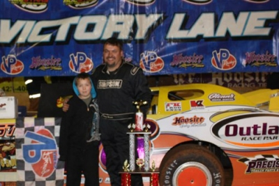Randy Weaver won his sixth SAS race of the season. (Ronnie Barnett)