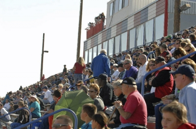 Tucson's grandstands last January. (photofinishphotos.com)
