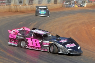Michael Page (18) topped Feb. 9's Cabin Fever 40 field at Boyd's Speedway. (Mitchell Jenkins)