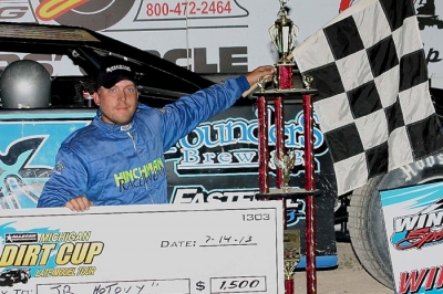 J.R. Hotovy claimed his second MDC victory at Winston. (Jim DenHamer)