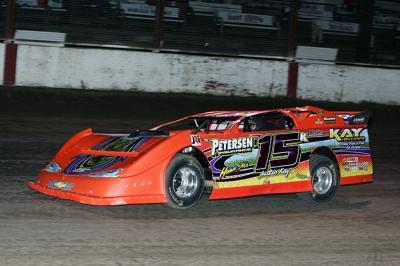 Justin Kay heads for his third straight Deery Brothers Summer Series victory. (mikerueferphotos.photoreflect.com)