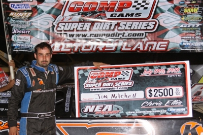 Jon Mitchell picked up $2,500 for his victory. (Woody Hampton)