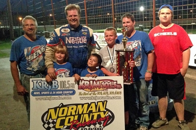 Brad Seng earned $2,000 at Norman County. (Mike Spieker)