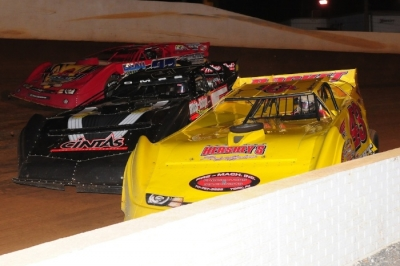 Tight action at Winchester. (Travis Trussell)