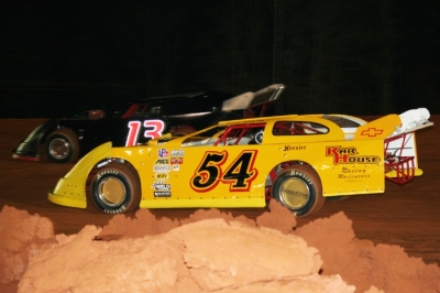 Brandon Overton (54) earned $5,000 at Modoc. (Bill Scruggs)