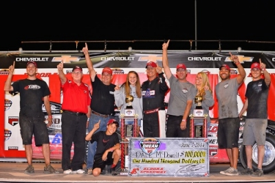 Team Dillon Racing and Dale McDowell in victory lane. (thesportswire.net)