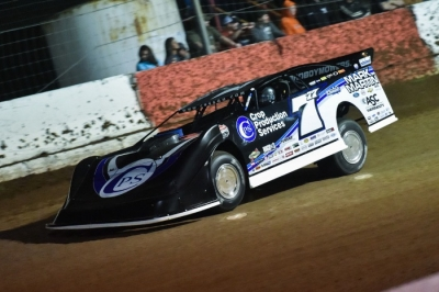 Jared Landers tours Batesville in Friday's prelims. (heathlawsonphotos.com)