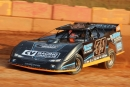 Steve Blackburn won July 22's Crate Late Model feature at Friendship Motor Speedway in Elkin, N.C. (Michael Bumgarner)