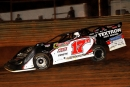 Dale McDowell heads to a $10,000 victory at Volunteer Speedway. (Jim DenHamer)