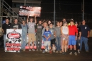 Billy Stake won Aug. 19's Limited Late Model feature at Portsmouth (Ohio) Raceway Park. (Tyler Carr)