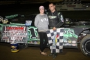 Max Blair earned $2,500 Sept. 16 at Freedom Motorsports Park in Delevan, N.Y., while rallying from his ninth starting spot in Zimmer's United Late Model Series action. (Robert Symonds)