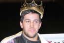 Kyle Hardy wore the King of the Knob crown Sept. 16 at Roaring Knob Motorsports Complex in Markleysburg, Pa., after his $6,000 Big Kahuna sweep. (Howie Balis)