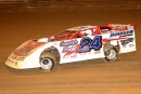 Jeremy Miller heads to a $10,000 MACS-sanctioned victory at Virginia Motor Speedway on Sept. 17, 2005. (Al Goulder)