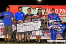 The Rocket Chassis house car team completed a weekend sweep with Sept. 24's World of Outlaws Craftsman Late Model Series victory at 81 Speedway in Park City, Kan. (photosbyboyd.smugmug.com)