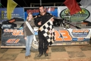 Michael Rouse earned $5,000 on Oct. 14 at County Line Raceway in Elm City, N.C., for his first I-95 Challenge Series victory. (redclayrebel.smugmug.com)