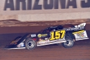 Mike Marlar earned $5,000 on Jan. 12 for his flag-to-flag victory in Keyser Manufacturing Wild West Shootout action at FK Rod Ends Arizona Speedway. (photofinishphotos.com)