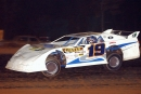 Mark Mears heads to a $7,000 victory in the 2004 Bama Brawl at North Alabama Speedway. (Brian McLeod)