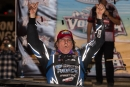 Scott Bloomquist led the final 35 laps to win Friday's World of Outlaws main event at Volusia. (heathlawsonphotos.com)