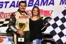 Joseph Brown earned a career-high $10,000 on March 4 at East Alabama Motor Speedway's Chevrolet Performance 100 for Crate Late Models. (Eric Gano)