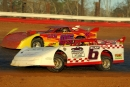 Scott Slay (6) rolls around Fast Trax Motorplex toward a $5,000 victory on March 21, 2004. (Todd Turner)