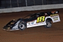 Jack Sullivan heads to a Comp Cams Super Dirt Series victory at Springfield Raceway. (Jim DenHamer)