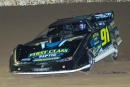 Tyler Erb heads for a $2,500 Mississippi State Championship Challenge Series victory March 17 at Jackson Motor Speedway in Byram, Miss. (R. Victory Photography)