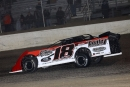 Shannon Babb heads for a $10,555 victory April 21 at 34 Raceway in West Burlington, Iowa, with the Lucas Oil Midwest LateModel Racing Association. (mikerueferphotos.photoreflect.com)