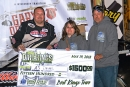 A.J. Diemel captured the DiscountShopTowels.com Dirt Kings Tour opener May 19 at Shawano (Wis.) Speedway. (Chad Marquardt)