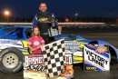 Steve Kester earned $5,400 for June 16's Barney Oldfield Race victory on the Sunoco American Late Model Series at Oakshade Raceway in Wauseon, Ohio. (Oakshade Raceway)