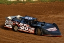 Andy Bond drove the Steve Curtis-owned No. 53 to a Super Late Model victory June 16 at Ohio Valley Speedway in Lubeck, W.Va. (Jeff Hurst)