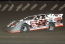 Ryan Unzicker led all but 12 laps on June 22 at Tri-City Speedway in Granite City, Ill., for his 10th career DIRTcar Summer Nationals victory. (Todd Battin)