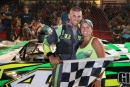 Andrew Terrill won July 13's Super Late Model feature at Tri-County Motor Speedway in Auburn, Mich. (Amanda Scott)
