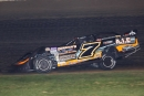 Ricky Weiss heads to a $10,000 WISSOTA 100 victory Sept. 15 at I-94 Speedway in Fergus Falls, Minn. (speedway-shots.com)