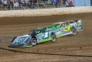 Josh Richards (1) slides ahead of Brian Shirley (3s) en route to his second DTWC victory. (heathlawsonphotos.com)