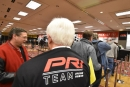 Attendees file into the registration area Thursday in Indianapolis for the opening day of the Performance Racing Industry Trade Show. (DirtonDirt.com)