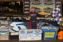 Mike Marlar earned $7,000 for Monday's DIRTcar Nationals victory. (heathlawsonphotos.com)