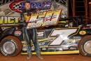 Donald McIntosh drove his family-owned Buick-powered 007 Race Car to a $5,000 victory in Dixie Speedway's Southeastern Classic. (Kevin Prater)