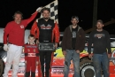 Kip Hughes led all 20 laps of March 16's Sooner Series opener at Red Dirt Raceway in Meeker, Okla. (Mike Howard)