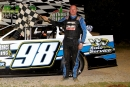 Eric Hickerson captured March 16's Super Late Model feature at Duck River Raceway Park in Wheel, Tenn. (kimages.us)
