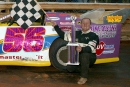 David Gentry earned $3,000 for winning the 2005 Columbus (Miss.) Speedway Carl Hogan Honda Winter Classic. (Scott Oglesby)