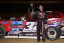 Bobby Pierce earned $5,000 for his March 23 victory in the unsanctioned Springi 50 at Florence Speedway in Union, Ky. (Brandon Murray)