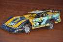 Donald McIntosh gets rolling at Crossville Speedway before Friday's $4,000 Schaeffer's Spring Nationals triumph. (mrmracing.net)