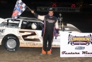Late Model rookie Mike Chasteen Jr. captured his first Midwest Big 10 Series feature May 17 at Lincoln (Ill.) Speedway. (joesecurityphoto.com)