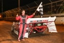 Jamey Boland won May 17's Super Late Model feature at Columbus (Miss.) Speedway. (foto-1.net)