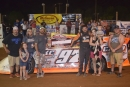 Michael Chilton earned a $4,031 victory in Lake Cumberland's Johnny Wheeler Memorial. (Alli Collis/DirtonDirt.com)