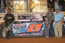 Michael Rouse won June 15's I-95 Challenge Series event at Halifax County Motor Speedway in Brinkleyville, N.C. (Joseph Swann)