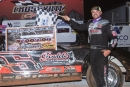 Jesse Lowe earned $2,000 on July 12 at Crossville (Tenn.) Speedway on the American Crate All-Star Series. (peepingdragonphotography.com)
