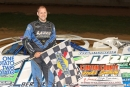Bryan Bernheisel won July 19's Zimmer's United Late Model Series event at Clinton County Motor Speedway in Mill Hall, Pa., for his first tour win. (Barry Lenhart)